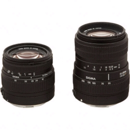 Sigma 18-50mm f/3.5-5.6 DC and 55-200mm f/4-5.6 DC Two Lens Kit