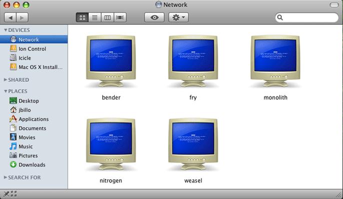 BSOD for Windows in Leopard