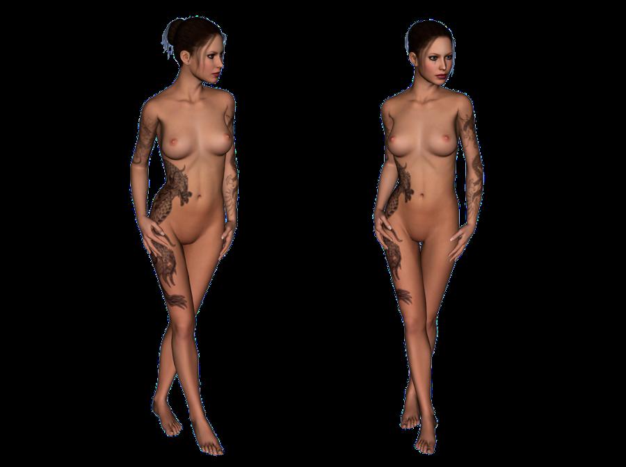 Amy - virtual model