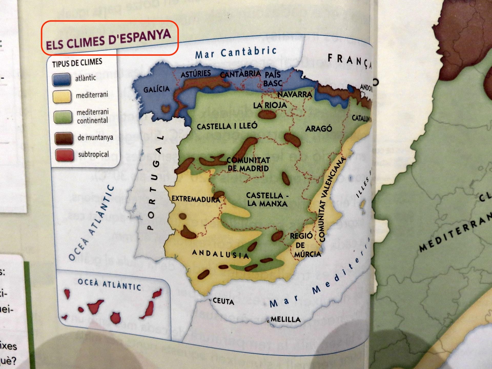Не, Испания не отсъства от каталунските учебници