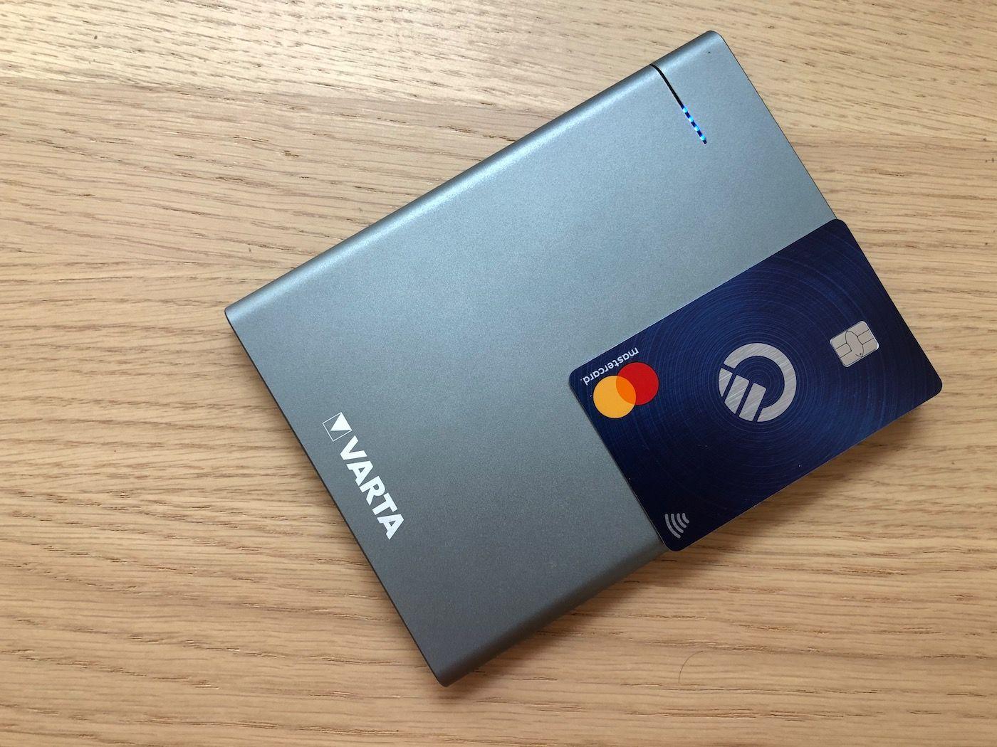 Varta PowerBank Slim 12000mAh size